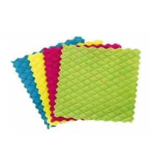 Pannospugna in microfibra in confezione da 4 pezzi in colori assortiti