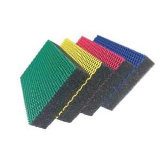 Spugna abrasiva antigraffio, confezione da 4 pezzi in colori assortiti