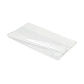 Sacchetto in plastica politene trasparente LDPE con soffietti laterali