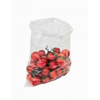 Sacchetto in plastica politene trasparente LDPE, confezione da 5 kg.