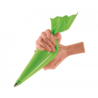 Sac a' poche antiscivolo verde 27x55 cm confezione da 100 pezzi