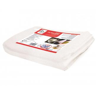 Panno filtrazione professionale TNT bianco fogli 75x75cm confezione da 25 pezzi