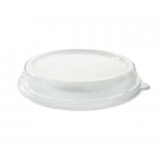 Coperchio tondo in RPET trasparente per  piatto fondo da 900 ml confezione da 40 pezzi