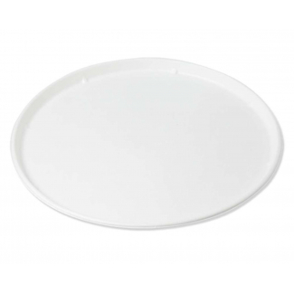 Piatto pizza in polpa di cellulosa biodegradabile diametro 32 cm in confezione da 25 pezzi