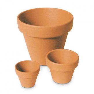Vasetto terracotta, diametro 5cm