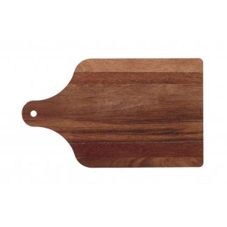 Tagliere monouso cartoncino laminato con stampa effetto legno