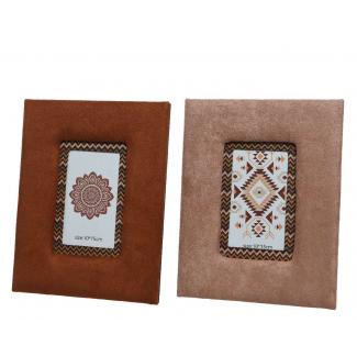 cornice portafoto disponibile in 2 colori cm 2 x 19 x 24