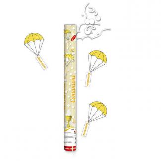 Cannone sparacoriandoli con paracadute comunione alto 100cm