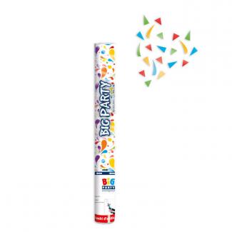 Cannone sparacoriandoli multicolor alto 60cm