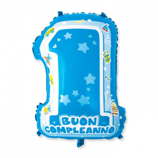 Palloncino in Mylar 1° Compleanno