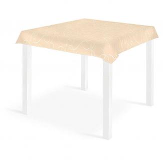 """Tovaglia quadrata fantasia """"Grace"""" avorio in tessuto non tessuto airlaid 100x100cm, confezione da 25 pezzi"""