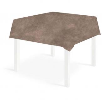 Tovaglia quadrata creta in tessuto non tessuto 140x140cm, confezione da 25 pezzi