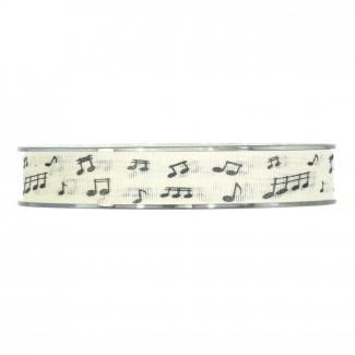 Rotolo nastro con disegno note musicali