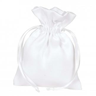 sacchetto in raso opaco con laccio