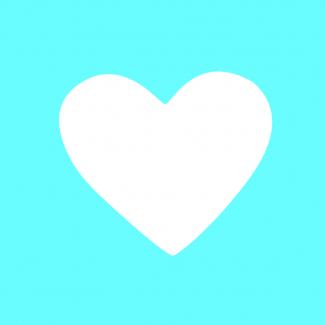 Fustella decorativa per carta, forma cuore