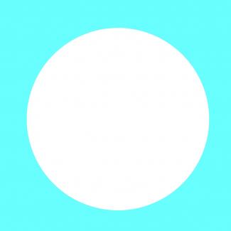 Fustella decorativa per carta, forma cerchio
