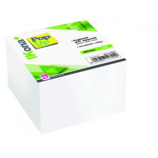 Cubo carta bianca per appunti, 700 fogli