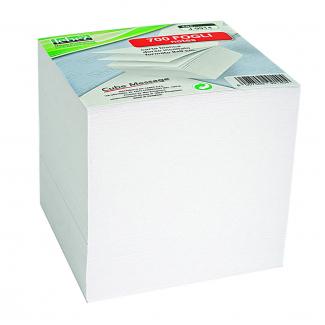 Blocco a cubo in carta per appunti e notes formato 9x9 cm da 700 fogli