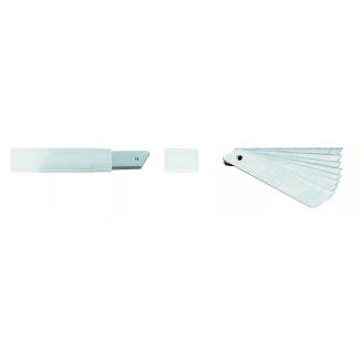 lame di ricambio per cutter 10 pezzi da 18 mm