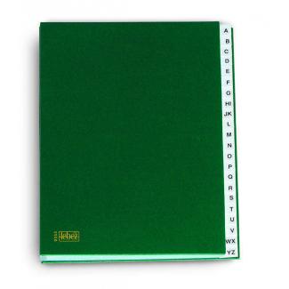 Classificatore alfabetico - libro monitore