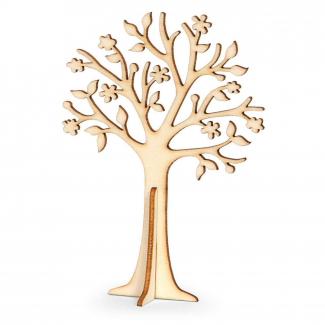 Albero della vita in legno naturale cm 12 x 8.5