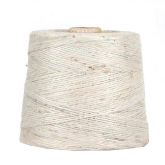 rotolo cordino juta bianco diametro mm 2 matassa da 1 kg, 250 mt circa