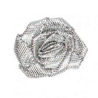 Rosa in lurex