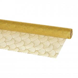 bobina modello barocco oro cm 70 x 9 mt