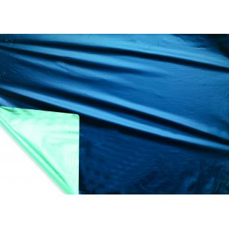 Bobina decor metallizzato HD bicolor tendence 2 lati blu/celeste mt 1x20 mt