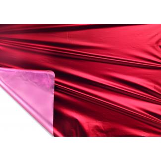 Bobina decor metallizzato HD bicolor tendence 2 lati bordeaux/rosa mt 1X20 mt