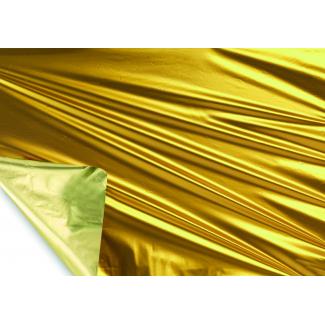 Bobina decor metallizzato HD bicolor tendence 2 lati giallo/giallo limone mt 1X20 mt