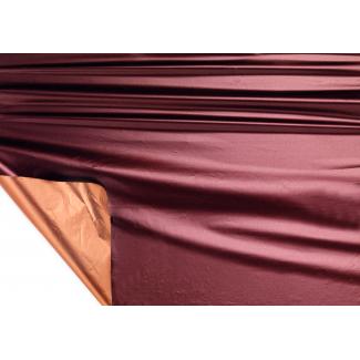 Bobina decor metallizzato HD bicolor tendence 2 lati marrone/rame mt 1X20 mt
