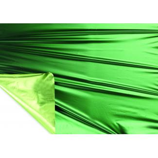 Bobina decor metallizzato HD bicolor tendence 2 lati verde/verde mela mt 1X20 mt