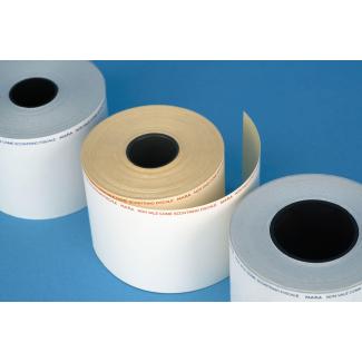 Rotolo carta termica adesiva per bilancia con foro 40