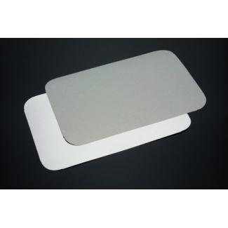 Coperchio in cartoncino accoppiato per vaschetta in alluminio