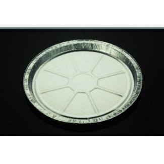 Vaschetta alluminio rotonda, altezza 15mm, confezione da 100 pezzi