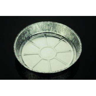 Vaschetta alluminio rotonda, altezza 40mm, confezione da 100 pezzi