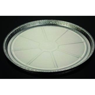 Vaschetta alluminio rotonda, altezza 20/25mm, confezione da 100 pezzi