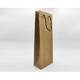 shopper kraft avana con maniglia in cordone cotton cacao gr 170 cm 18 x 10 x 50 + 5 confezione da 25 pezzi