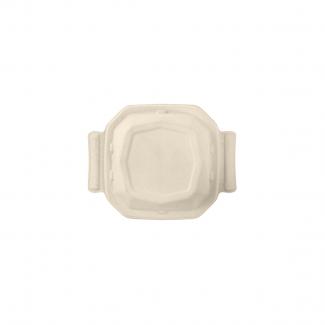 Coperchio biodegradabile in polpa di cellulosa per piatto ottagonale da 400 ml in confezione da 80 pezzi
