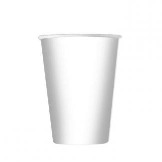 Bicchiere in cartoncino, 200cc in confezione da 25 pezzi