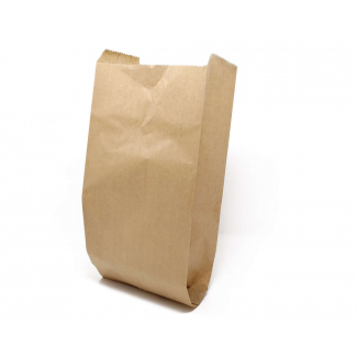 Sacchetto in carta avana millerighe opaco 50gr. confezione da 10 kg.