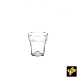 Bicchiere plastica in PS trasparente per degustazioni 30cc confezione da 50 pezzi