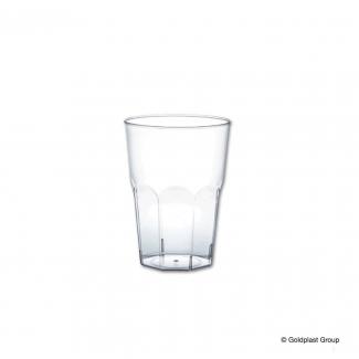 Bicchiere plastica per amaro in PS trasparente 120cc confezione da 50 pezzi