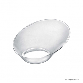 Coppetta design sodo fingerfood trasparente confezione da 50 pezzi
