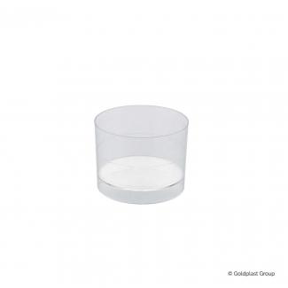 Coppetta cilindro fingerfood trasparente 60cc confezione da 15 pezzi