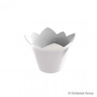 Coppetta ninfea fingerfood bianca 70cc confezione da 25 pezzi