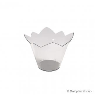 Coppetta ninfea fingerfood trasparente 70cc confezione da 25 pezzi