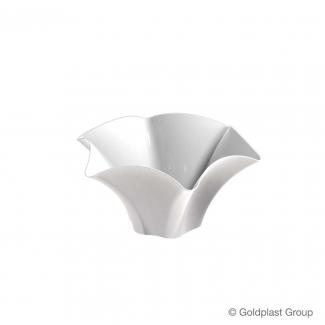 Coppetta petunia fingerfood bianca 70cc confezione da 25 pezzi