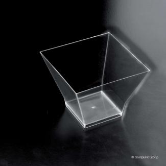 Coppetta pagoda design fingerfood trasparente